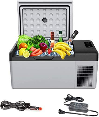 Alpicool - Frigorífico congelador portátil de 15 L, Mini C