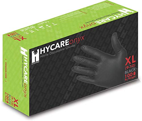Hycare Nitrile Powder Free Einweghandschuhe Größe XL (100 Stück)