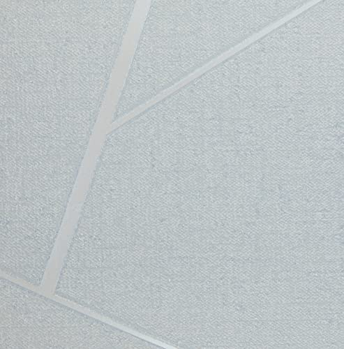 Fine Decor Wallcoverings FD42280 cuarzo fractal, plata