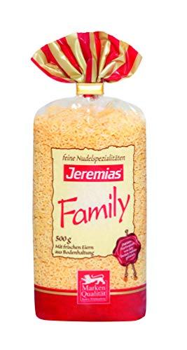 Jeremias Suppen-Buchstaben, Family Frischei-Nudeln (1 x 500 g Beutel)