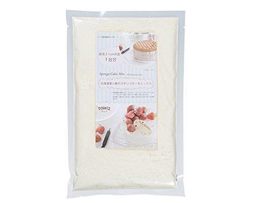 北海道産小麦のスポンジケーキミックス / 350g TOMIZ(富澤商店) 菓子用ミックス粉 スポンジケーキミックス