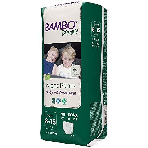 Bambo Dreamy Night Pants Boy 8-15 anni 60 pezzi