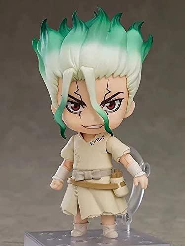 Neolítico Shijiyuan Shishen Senkong Q Nendoraid Face Version Editable en Anime Carácter Modelo Colección Toy Regalo Figurine Acción Doll Decoración de Escritorio