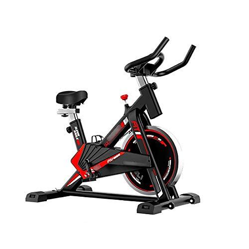 Bicicleta de Spinning Giro de la bici del asiento ajustable y controla la resistencia Infinity correa de transmisión Cardio Fitness Training 1180x840x1120mm Entrenamiento en Interiores Fitnes
