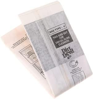 Dirt Devil Type U 3 Pak Vacuum Bags - 3920047001