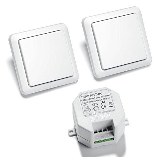 Intertechno Funkschalter Set Wechselschaltung CMR 1000 + 2x YWT 8500