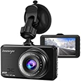 """G-Sensor Free App T1 Dash Cam Parking Mode WDR Wide Angle Lens Loop Recording Night Vision with Sony Sensor TEMON Car Camera : 2.45/""""LCD FHD 1080P WiFi Car Dashboard Camera DVR Recorder"""