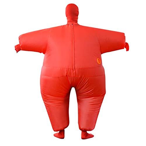 Zoylink Blow Up Costume Costume Gonflable Vêtements Gonflables Du Corps Entier Pour Le Carnaval