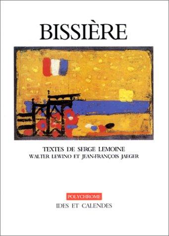 Bissière (livre non massicoté)