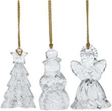 Gorham Set of 3 Assorted (Angel, Snowman, Tree) Ornaments