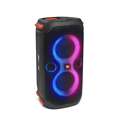 JBL PARTYBOX110 Bluetoothスピーカー ワイヤレス IPX4/マイク入力/ギター入力搭載/ブラック JBLPARTYBOX110JN 【国内正規品/メーカー 付き】