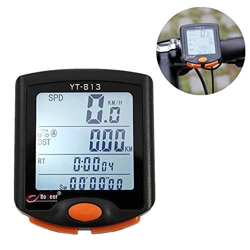 Ciclocomputador Bicicleta Cuentakilometros Cuenta Kilometros Bici Inalambrico Ordenador Bicicleta Cuenta Kilometros Bici...