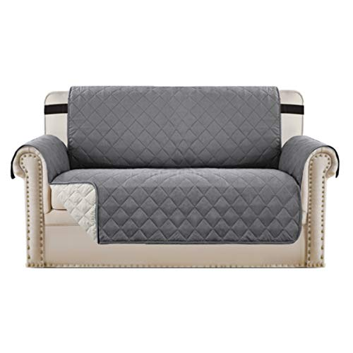 BellaHills Waterproof Sofa Protectors 2 Seater from Pets/Dogs Couch Covers...