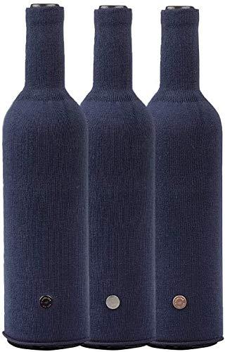 L'Atelier du Vin 095385-5 Cache Bottiglie (x3), Cotton, L 39 cm x l 12 cm x h 0,8 cm