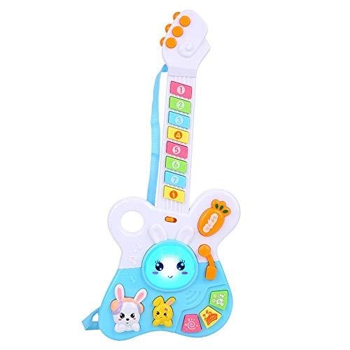 Regalo De Abril Juguete de Guitarra Musical eléctrica, Juguete Educativo de Aprendizaje...