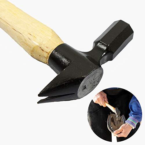 Hoefreparatie gereedschap, professionele nagel hoef hamer nagel hoefijzer gereedschap spijkertrekker schuur levert paardenverzorgingstools