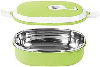 YLWL 1pc Boîte à lunch de portable thermique chauffée en acier inoxydable alimentaire Vaisselle alimentaires Boîtes de ran...