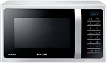 Samsung MC28H5015AW 28 Liter Microwave with Grill and Convection 220 VOLT FOR OVERSEAS USE (White)