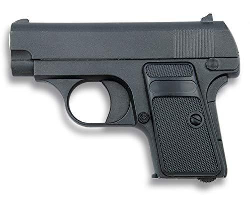 Tiendas LGP, Albainox 35500 Arma Airsoft, Pistola Aire Suave, Potencia 0,8 Julios, Munición Bolas PVC 6 mm.