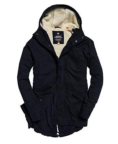 Superdry Winter Rookie Military Parka Jacket Dark Navy