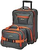 Rockland Fashion Softside Upright Luggage...