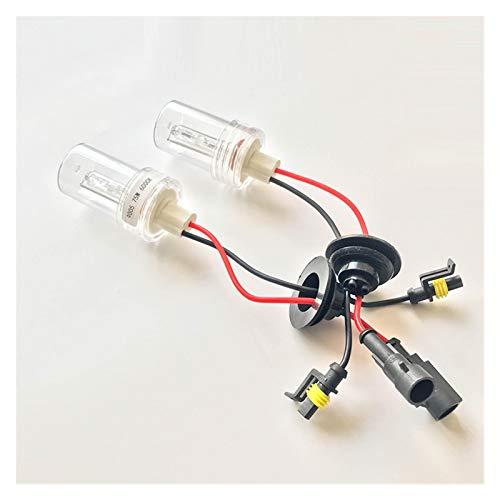 LXH-SH Tira de luz LED Lámpara de Xenon de 75W / 100W Coche 9005 Lámpara de luz Blanca Bombilla de Faros Tira de luz (Color : 8000K)