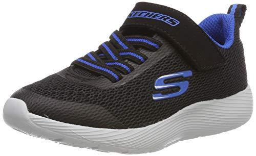 Skechers Jungen Dyna-lite Sneaker, Schwarz (Black Royal Blue Bkry), 30 EU (12 UK)