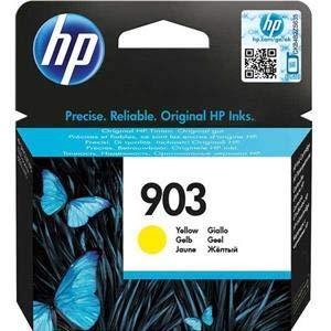 HP 903 T6L95AE Cartuccia Originale per Stampanti a Getto di Inchiostro, Compatibile con OfficeJet 6950, OfficeJet Pro 6960 e 6970, Giallo