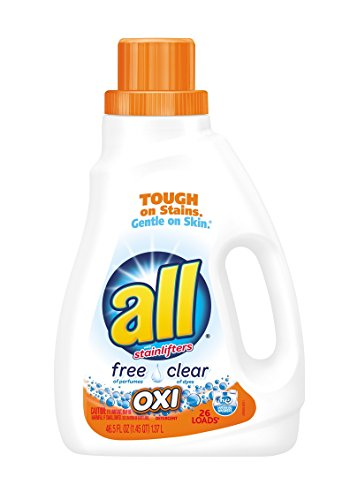 Product Image of the all Liquid Laundry Detergent, Free & Clear - 46.5 oz