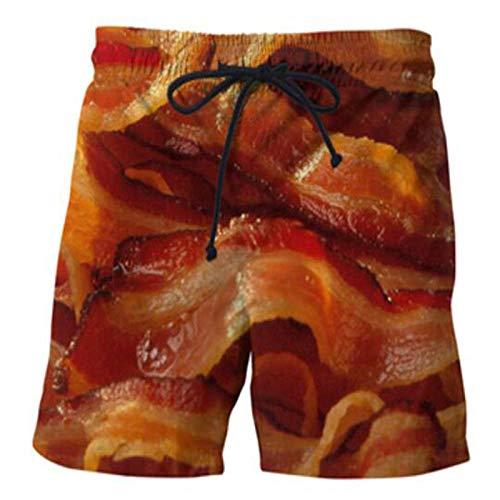 yyqx closed truck Mallas Cortas Hombre Pantalones Cortos Impresos digitalmente para Hombre...