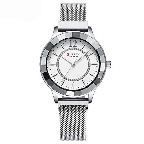 CURREN Reloj de cuarzo para mujer Fahion Multifuntional impermeable relojes