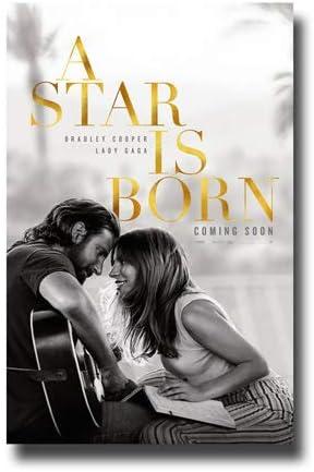 A Star Is Born Bradley Cooper Lady Gaga Cs Poster Movie 11 X 17 In Inches Amazon De Home Kitchen