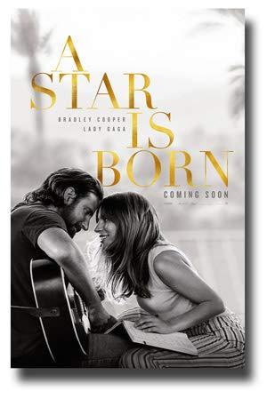 A Star is Born Poster Movie Promo 11 x 17 inches Bradley Cooper Lady Gaga CS