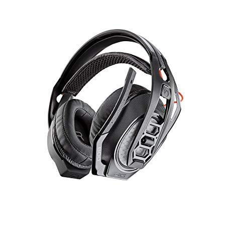 Plantronics RIG 800HS auricular con micrófono Monoaural Diadema Negro (Consola de juegos, Monoaural, Diadema, Negro, PlayStation 4, Inalámbrico y alámbrico) - Compatible con PS5