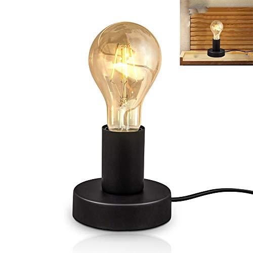 Chao Zan lámpara de mesa con interruptor de cable lámpara de cabecera...