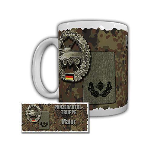 Tasse Panzeraufklärer Major Rangabzeichen Bundeswehr Dienstgrad#29843