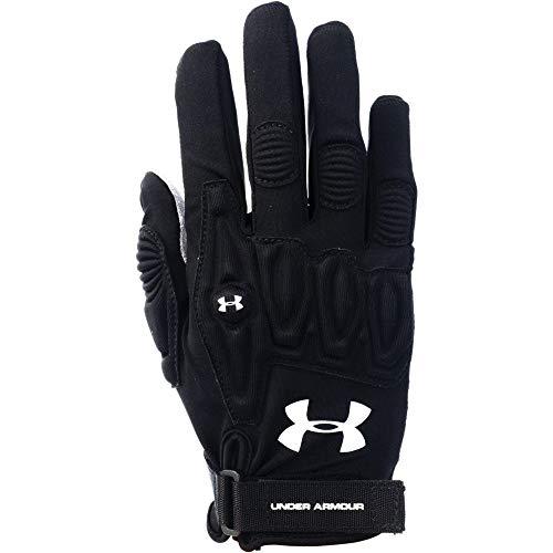 Under Armour Women's Illusion Lacrosse Field Glove Black Size Small