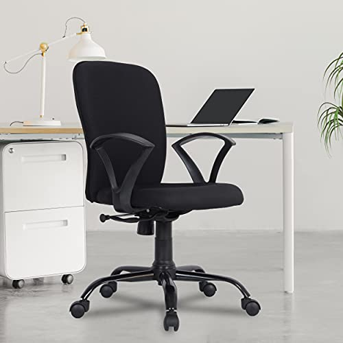 Green Soul® Seoul-X Mid Back Office/Study Chair with Multi Color Options (Smart Black)