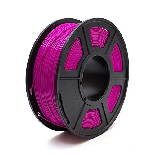 Printer Filament 3D Printer Filament 1.75 PLA PETG Carbon Fiber Wood ABS Metal Eramics Nylon (Color : PLA Purple)