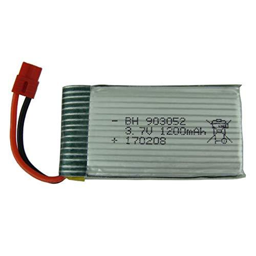 HELEISH 3.7V 1200mAH LiPo batería for Syma X5HC X5HW RC Drone Quadcopter Piezas de montaje de bricolaje
