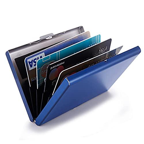 RFID Kreditkartenetui Schutz Edelstahl Kreditkartenetui Metall Kartenetui Ausweishülle