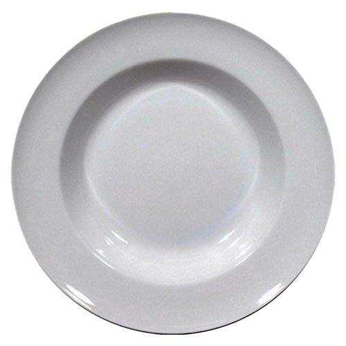 SATURNIA Set von 12 Porzellanteller Tivoli Tischfläche - 30 cm Geschirr