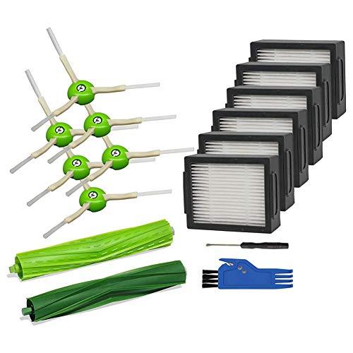 Mogzank Accesorios Piezas de Repuesto para I7 I7 + / I7 Plus E5 E6 E7 Kit de Accesorios de Aspiradora RobóTica 6 Filtros
