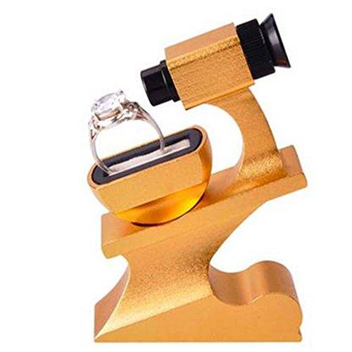 Vergrößerungsglas Diamant Ring Ehering Taille Spiegel Schmuck Zirkon Diamant GIA Code Lupe 10 Mal Die Taille Prisma