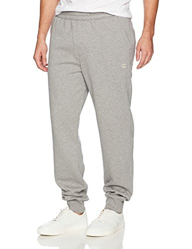 Champion Men's Authentic Originals Sueded Fleece Jogger Sweatpant, Oxford Gray, Large