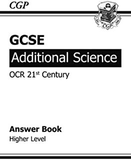 GCSE Additional Science OCR 21st Century Answers (for Workbook ) - Higher