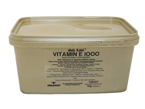 Gold Label Herbal Health Vitamin E 1000 - Clear, 1 kg