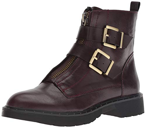 Dirty Laundry by Chinese Laundry Women's Joplin Motorcycle Boot, Oxblood Smooth, 9.5 M US
