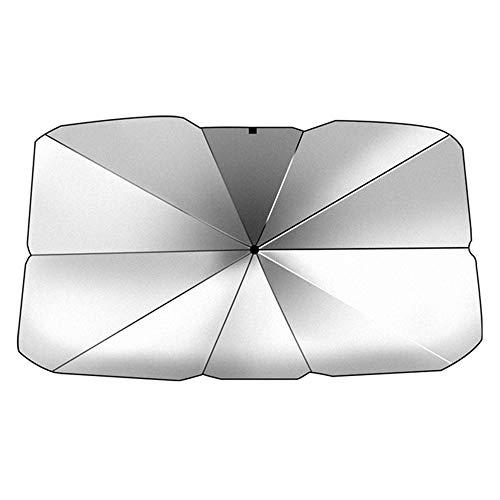 Chnrong Parasol para parabrisas de coche, universal, plegable, plegable, para parabrisas delantero, protección solar, protección UV, protección contra rayos UV