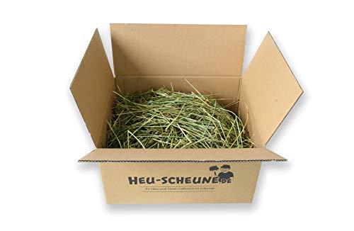 Timothy-Heu 5kg Heu-Scheune® rohfaserreich 100% Wiesenlieschgras für Kaninchen Meerschweinchen Pferde Hasen